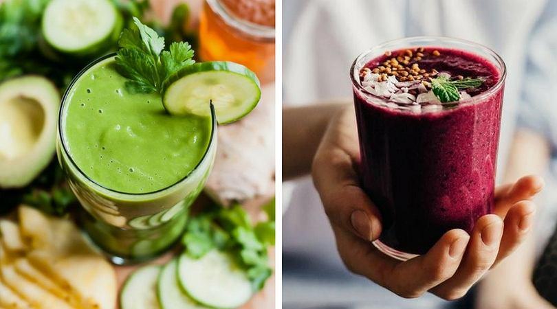 Owocowe smoothies są zdrowe i sycące