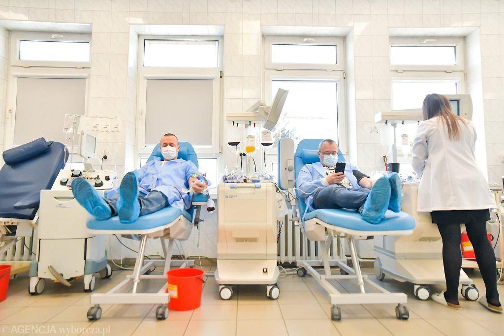 Regionalne Centrum Krwiodawstwa i Krwiolecznictwa gra z Wielką Orkiestrą Świątecznej Pomocy. W niedzielę czeka na dawców krwi i osocza