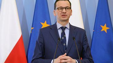 Konferencja prasowa premiera w Warszawie w sprawie przekształcenia OFE w IKE