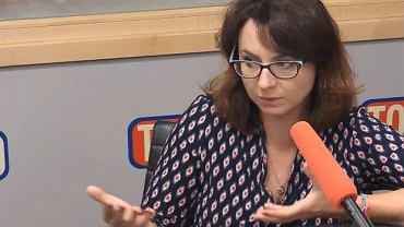 Kamila Gasiuk-Pihowicz w Poranku Radia TOK FM Jacka Żakowskiego