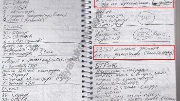 Zapiski szefa ochrony prezydenta Janukowycza