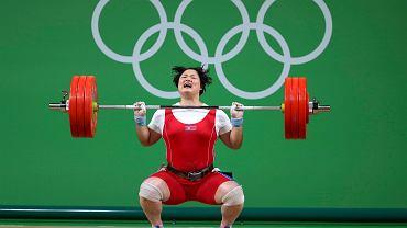 Podnoszenie ciężarów w kategorii kobiet powyżej 75 kg