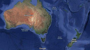 Nowa Zelandia. Trzęsienie ziemi