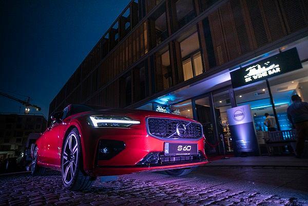 Premiera Volvo S60 w restauracji OKWineBar
