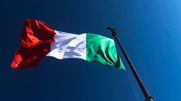 Flaga Włoch (zdjęcie ilustracyjne)