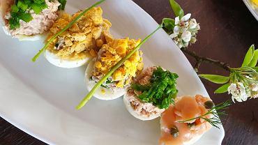 Przepisy na jajka faszerowana - smaczne i zdrowe.
