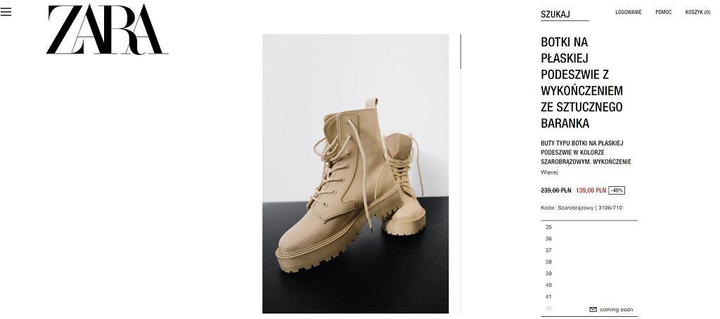 Zara ogłosiła wielką wyprzedaż. Sprzedaje uwielbiane przez kobiety buty. To hit w sieci!