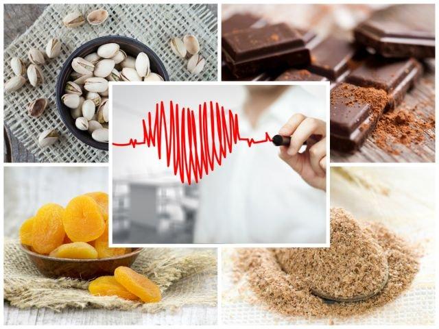 Potas, niezbędny dla pracy mięśni i serca, znajdziesz przede wszystkim w orzechach, otrębach, suszonych owocach, nasionach warzyw strączkowych, a także - czekoladzie.
