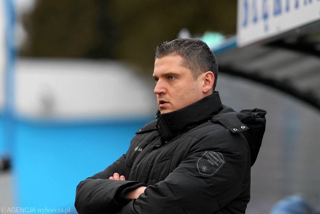 Krzysztof Kapuściński, trener Błękitnych Stargard