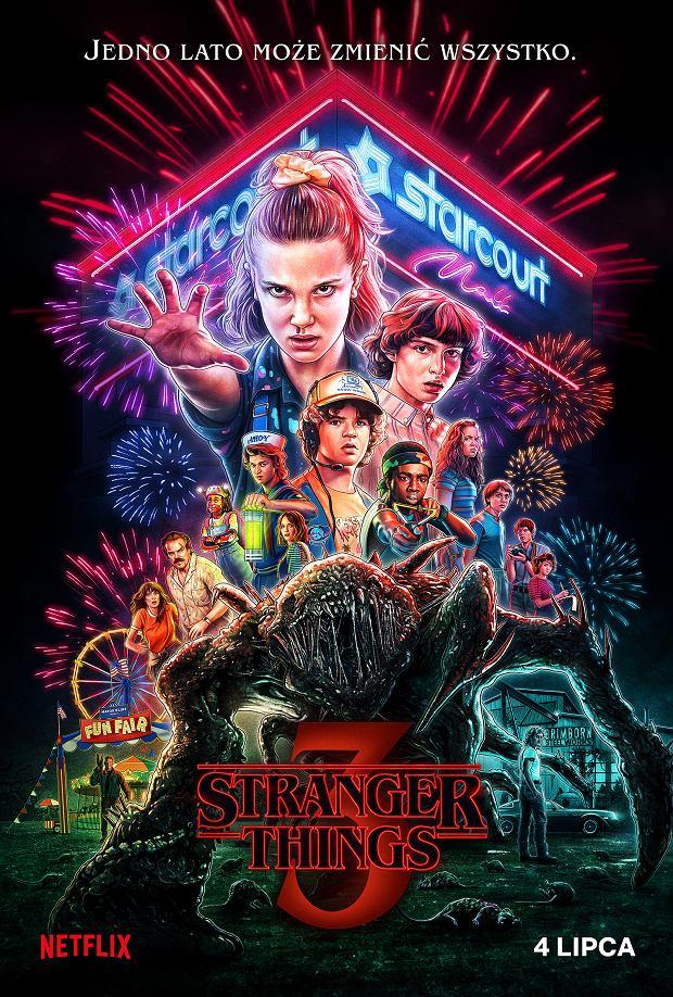 Stranger things - plakat