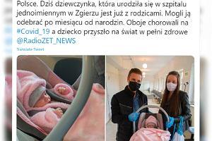 Pierwszy poród pacjentki z koronawirusem w Polsce. Rodzice Klary zobaczyli ją dopiero miesiąc po porodzie