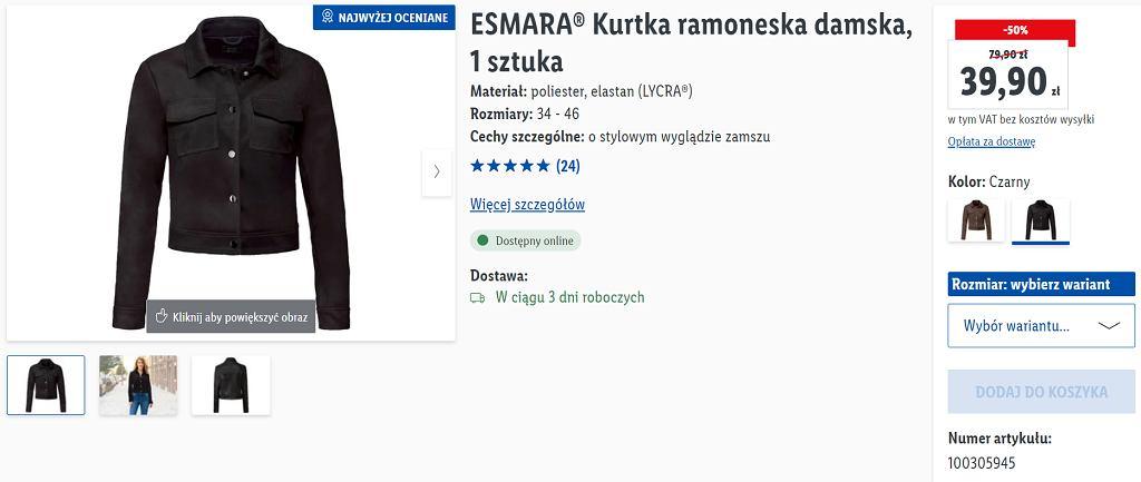 Lidl wyprzedaje kultową kurtkę. Teraz kosztuje mniej niż 40 zł. To ramoneska idealna na wiosnę!