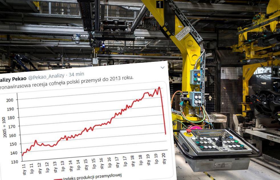 21.04.2020 Gliwice , fabryka Opel . Zaklad produkcji samochodow Opel zawiesil produkcje w polowie marca . Przygotowania do wznowienia produkcji .