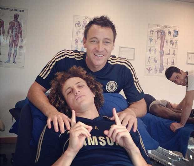 John Terry i David Luiz. Nowy bromans w Chelsea, tylko co na to Lamps?