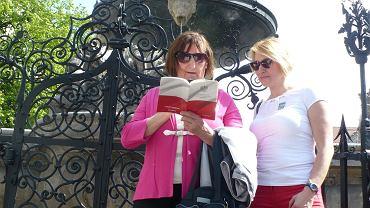 Sędzia Dorota Zabłudowska z mamą.