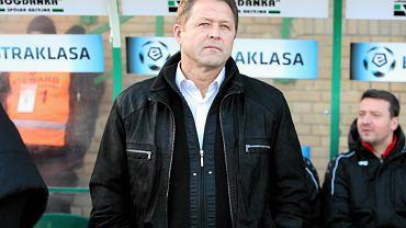 Trener łęcznian Jurij Ształow