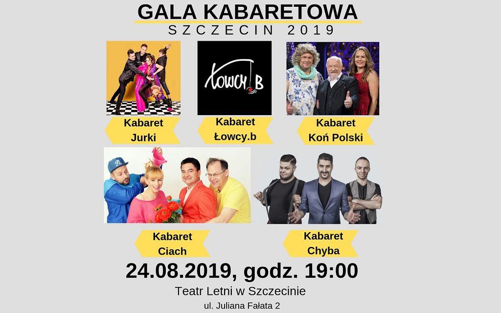 Zapraszamy na Galę Kabaretową - Szczecin 2019