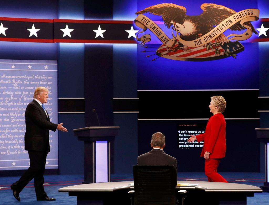 Debata prezydencka Donald Trump - Hillary Clinton