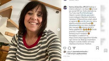 Hanna Śleszyńska pokazała dorosłych synów