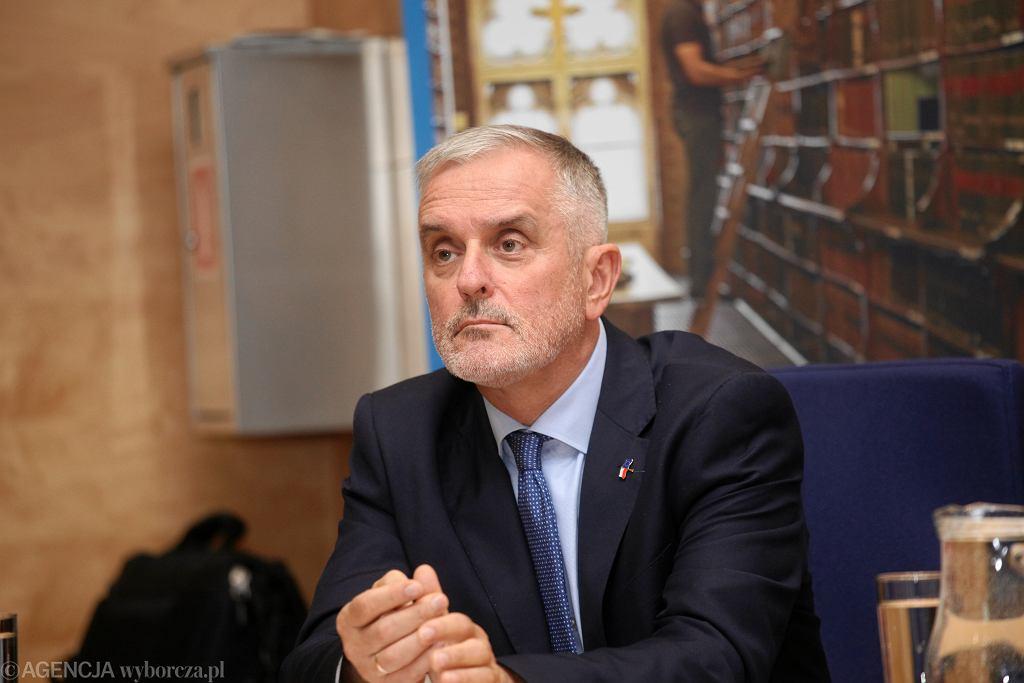 Prezydent Wałbrzycha Roman Szełemej