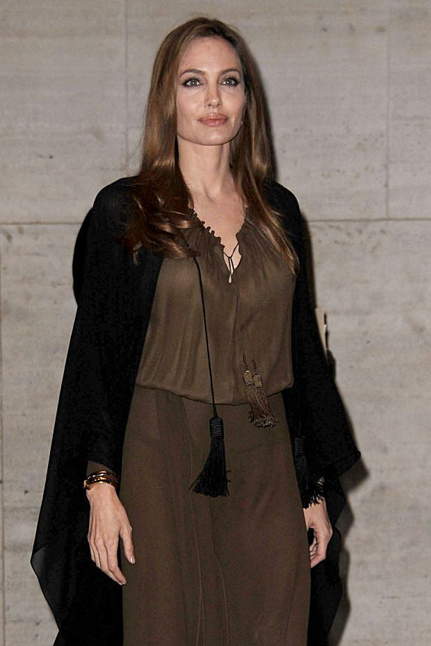 WWW.ACEPIXS.COM . . . . . April 4, 2013...New York City....Angelina Jolie attends the 4th Annual Women in the World Summit at Lincoln Center on April 4, 2013 in New York City ....Please byline: KRISTIN CALLAHAN - ACEPIXS.COM.. . . . . . ..Ace Pictures, Inc: ..tel: (212) 243 8787 or (646) 769 0430..e-mail: info@acepixs.com..web: http://www.acepixs.com