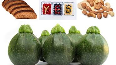 wielkość i ilość porcji - warzywa