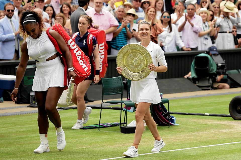 Serena Williams i Simona Halep