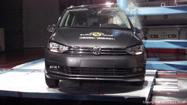 Volkswagen Touran - test zderzeniowy