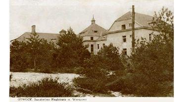 Stare zdjęcie otwockiej Zofiówki (fot. autor nieznany / wikimedia.org / domena publiczna)