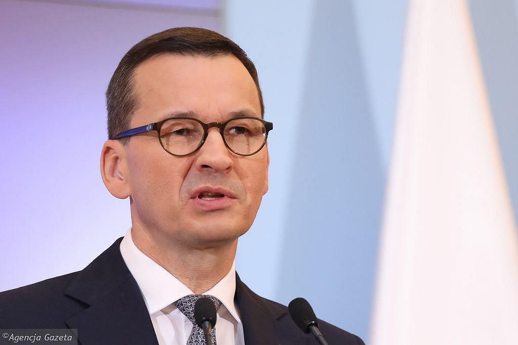 Morawiecki: Polska gotowa do wprowadzenia paszportów szczepionkowych. Na zdjęciu premier Mateusz Morawiecki