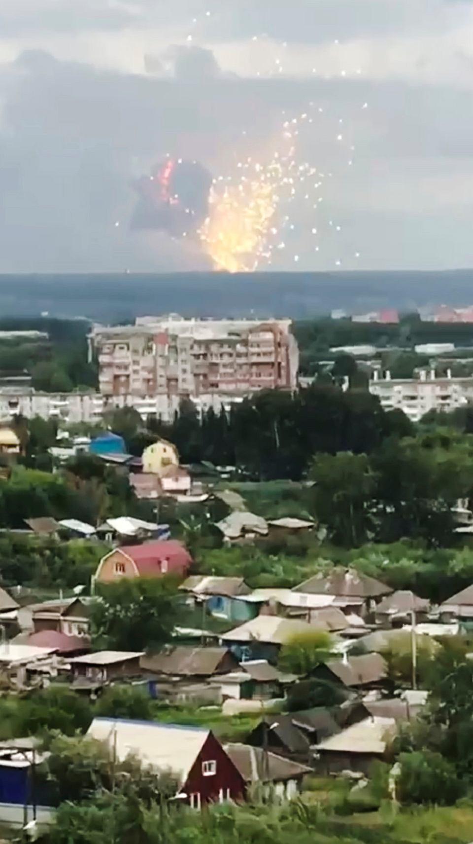 Eksplozja W Magazynie Broni W Rosji Osiem Osób Rannych