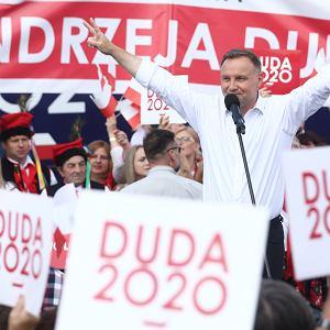 Andrzej Duda w Olkuszu