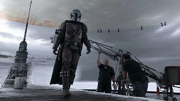 Zdjęcia z wirtualnego planu serialu 'The Mandalorian'
