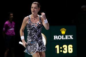 WTA Finals: Agnieszka Radwańska - Karolina Pliskova NA ŻYWO. Transmisja w TV i ONLINE. O której godzinie?