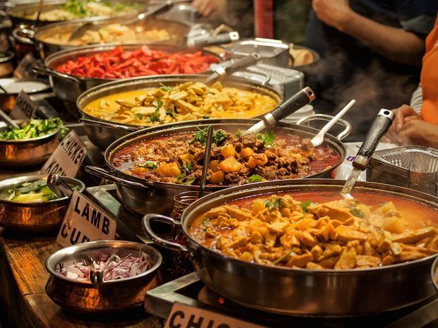 Uliczne jedzenie w Indiach pokochają przede wszystkim wegetarianie