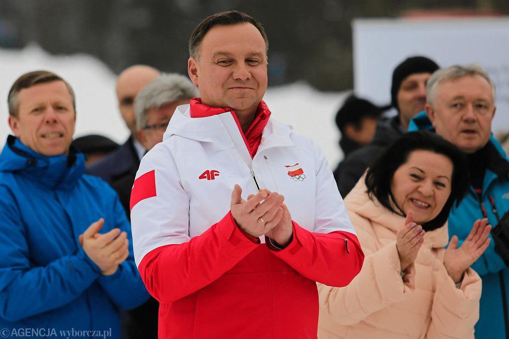 Memoriał Marii Kaczyńskiej w Rabce Zdroju, z udziałem prezydenta Andrzeja Dudy