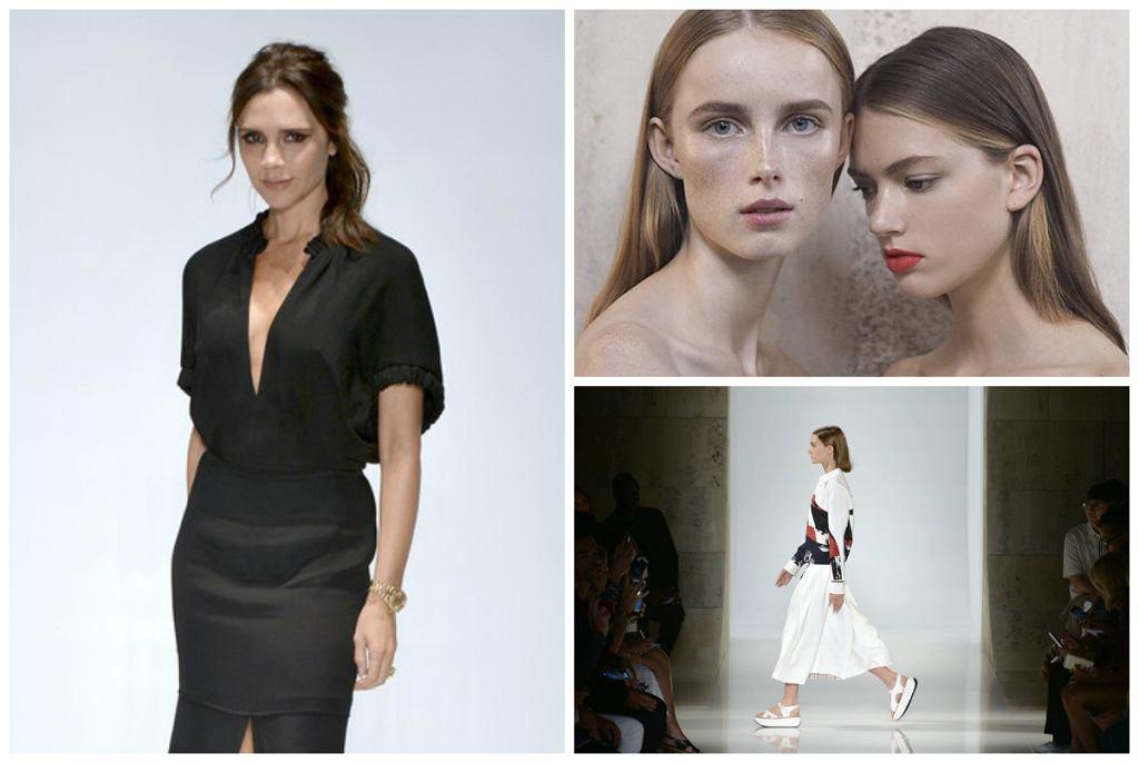 Victoria Beckham wiosna-lato 2016 - pokaz kolekcji na New York Fashion Week