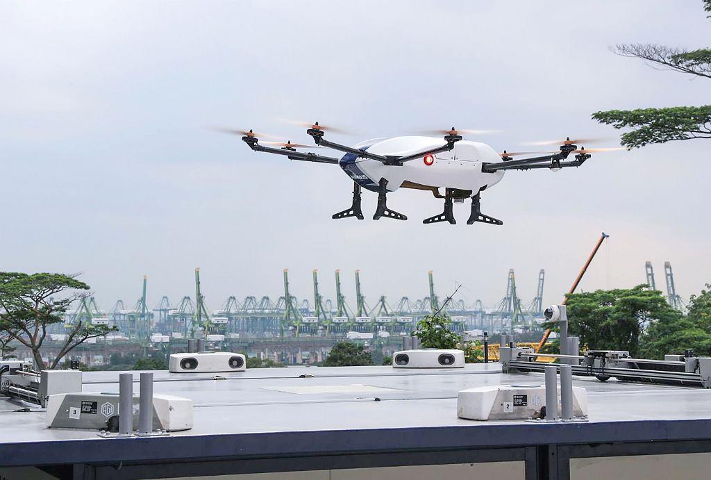 Pierwszy lot testowy transportowego drona Airbusa 'Skyways'