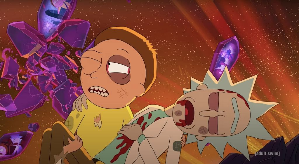'Rick i Morty' - kadr z 'Season 5 Premiere Cold Open: Morty Meets Rick's Nemesis'