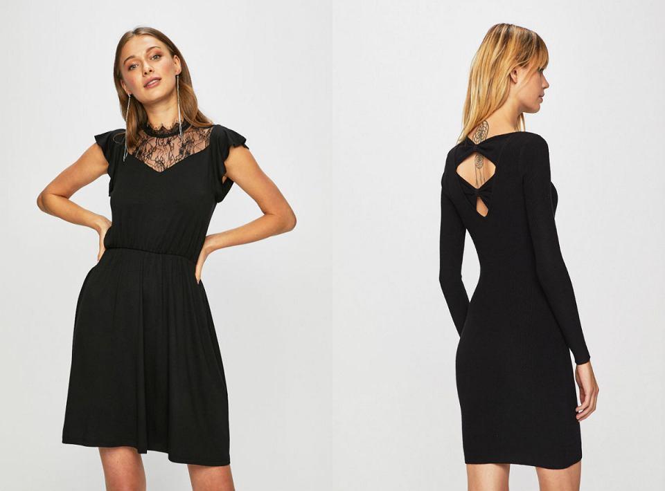 Czarne sukienki ONLY
