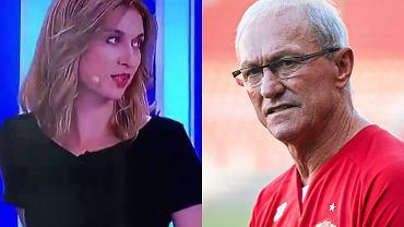 Dziennikarka TVN24 zaliczyła małą wpadkę związaną z Franciszkiem Smudą