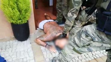 Zatrzymanie w Gdyni jednego z podejrzanych za pobicie.