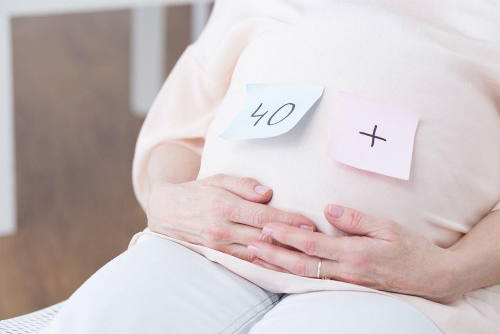 Ciąża w późnym wieku, czyli jaka?