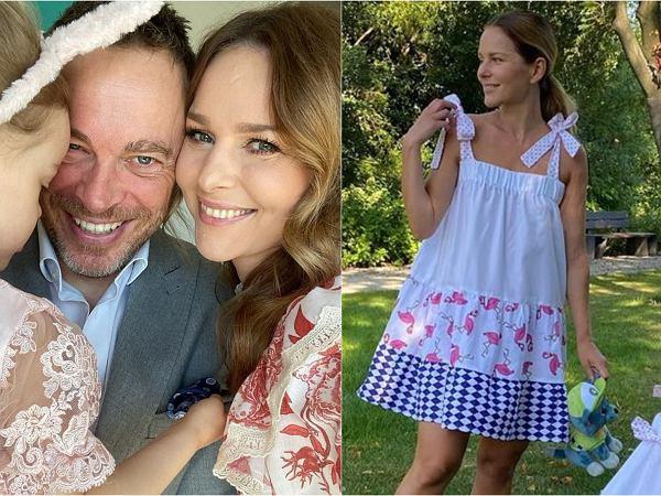 """Paulina Sykut-Jeżyna pokazała twarz córki! """"Różyczka czysty tata"""""""