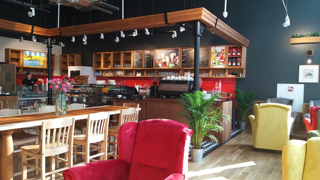 Columbus Cafe w Centrum Praskim Koneser / materiały promocyjne