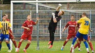 Maciej Raniowski podczas meczu rezerw Lechii Gdańsk
