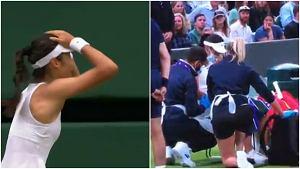 To koniec! Dramat największej sensacji Wimbledonu. Miała kłopoty z oddychaniem