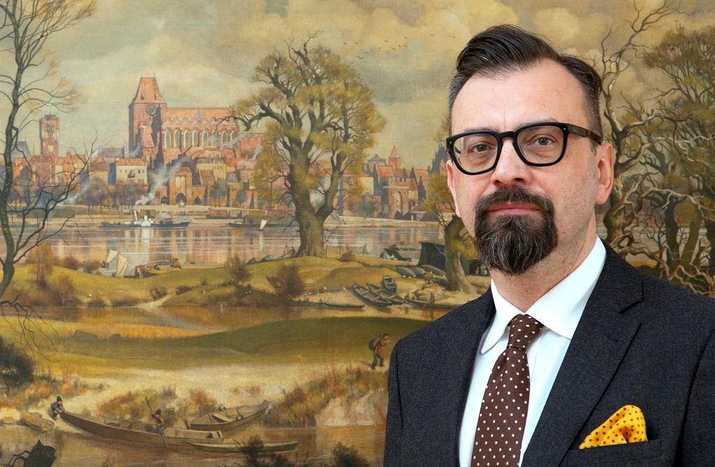 Marcin Czyżniewski, przewodniczący Rady Miasta Torunia