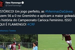 Kosmiczny wynik w meczu kobiet w Brazylii. Gol średnio co 96 sekund