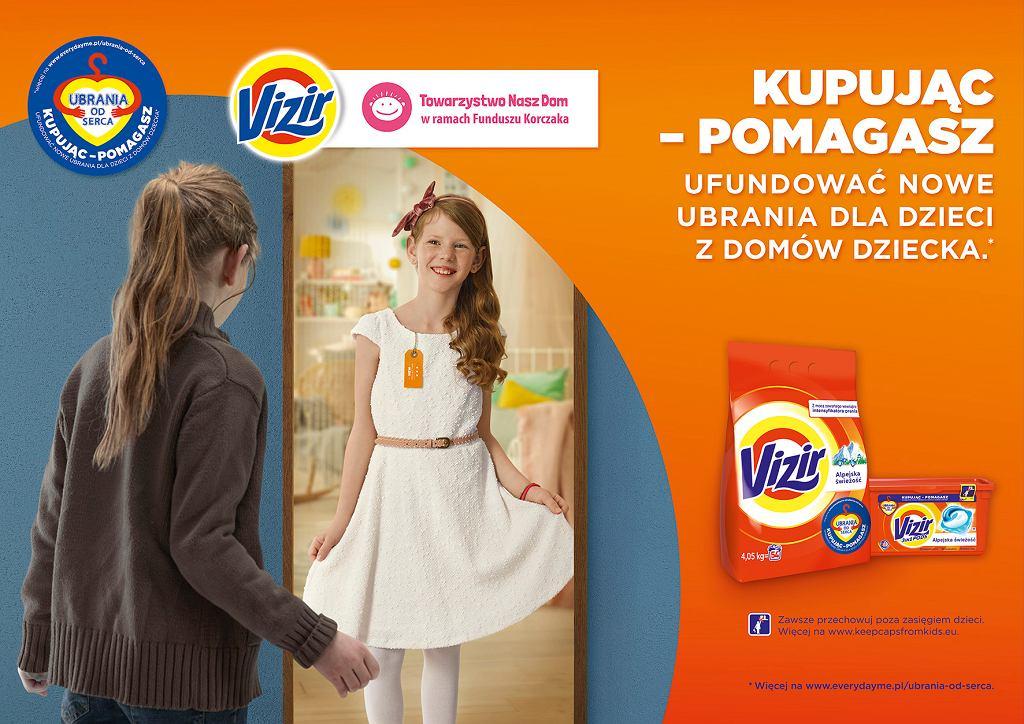 Marka Vizir i Towarzystwo Nasz Dom rozpoczynają 2. edycję kampanii 'Ubrania od serca'